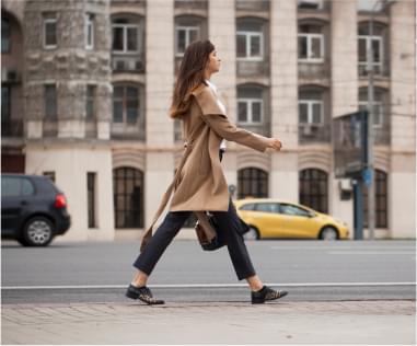 Пройдитесь быстрым шагом по улице